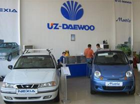 Продажи автомобилей Daewoo сократились на 38%