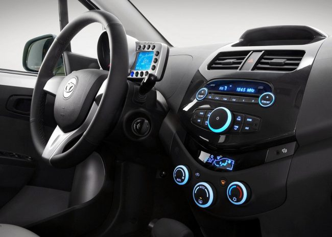 Интерьер нового Daewoo Matiz