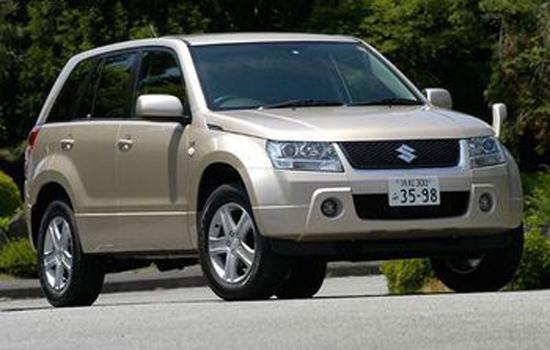 Авто-новости: Suzuki Escudo изменился внутри и снаружи