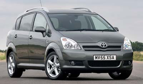 Авто-новости: Toyota Verso: новый минивэн для Старого Света