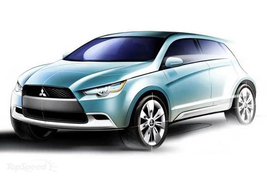 Matiz-club: Mitsubishi Concept cX: концепт или серия