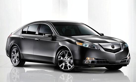 Авто-новости: Первый взгляд на Acura TL