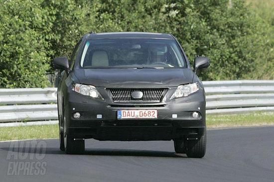 Авто-новости: Новое поколение Lexus RX будет похоже на родственника
