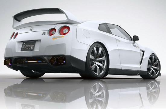 "Matiz-club: Nissan GT-R по прозвищу ""Годзилла"""