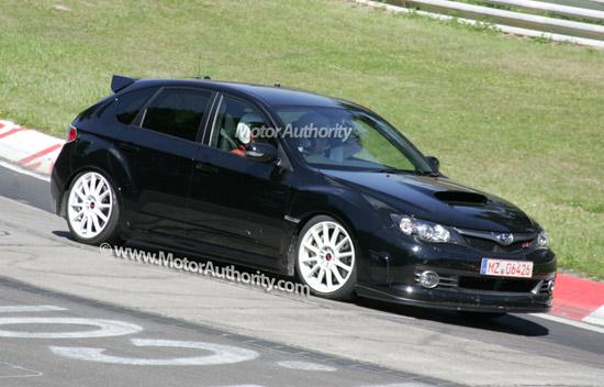 Matiz-club: Самая стремительная Subaru Impreza не ускользнула от папарацци