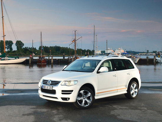 Matiz-club: Volkswagen Touareg North Sails: молодой морской волк