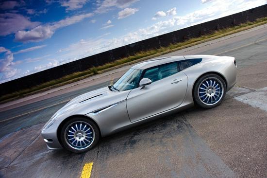 Matiz-club: British Motor Show: Lightning GT - будущее, которое настало сегодня