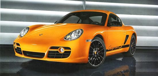 Matiz-club: Porsche Cayman S: первое изображение в Интернете