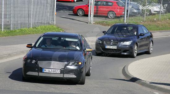 Авто-новости: На BMW M5 произошла смена двигателя