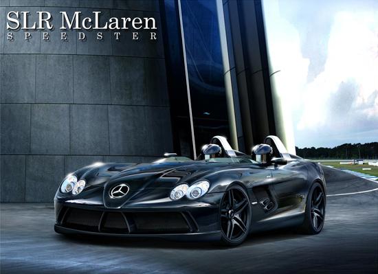 Авто-новости: Каким будет Mercedes SLR McLaren Speedster?
