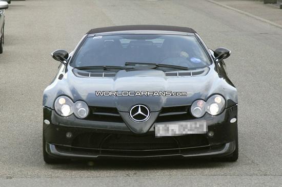 Авто-новости: Mercedes McLaren SLR 722 превратился в кабриолет