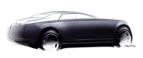 Авто-новости: Rolls Royce RR4 на пути в Женеву