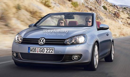 Авто-новости: Шестое поколение Volkswagen Golf не останется без кабриолета