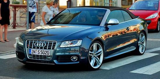 Авто-новости: Первый набросок кабриолета Audi S5