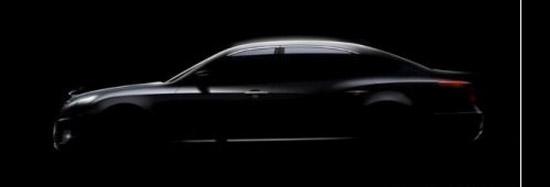 Авто-новости: Hyundai опубликовал первый тизер роскошного седана
