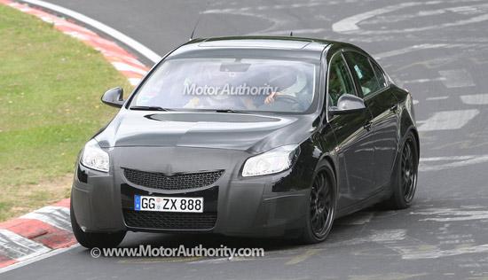 Авто-новости: Opel Insignia OPC навестила Нюрбургринг