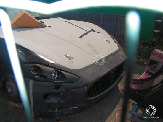 "Matiz-club: Кабриолет Maserati GranTurismo ""отыскался"" среди автолома"
