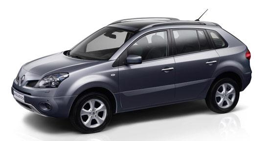 """Авто-новости: SUV Renault Koleos: российские цены """"от"""" и """"до"""""""