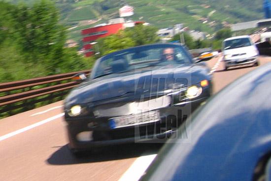 Matiz-club: BMW Z4 опробовал автобан