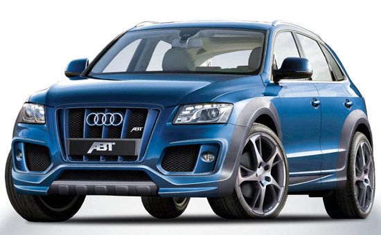 Matiz-club: Кроссовер Audi Q5 навестил Abt