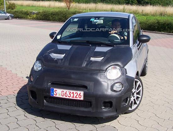 Matiz-club: Fiat 500 Abarth SS: равнение на спорткары