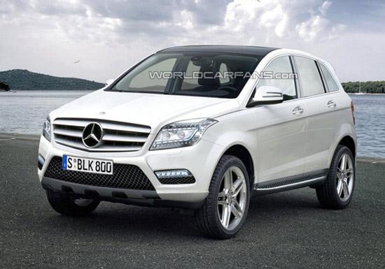 Matiz-club: Mercedes выпустит еще один кроссовер