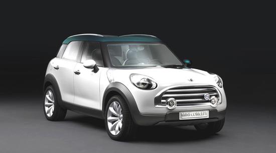 Авто-новости: Crossover Concept: четвертый вариант от Mini