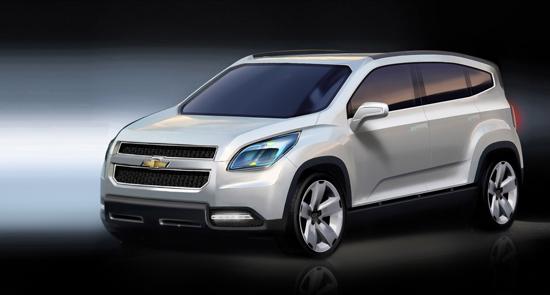 Авто-новости: Chevrolet Orlando 2008: первая информация от производителя
