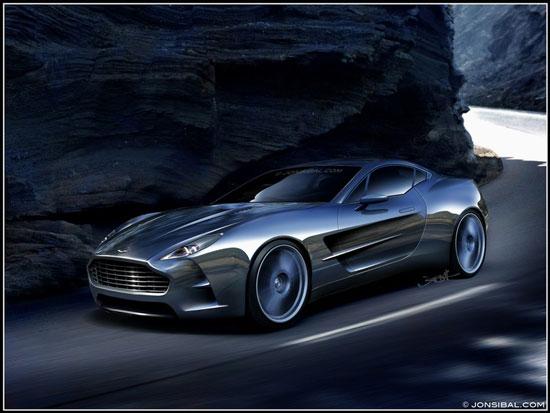 Matiz-club: Первый образ Aston Martin One-77