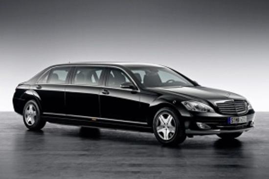 Matiz-club: Mercedes-Benz S600 Pullman Guard не даст слабины