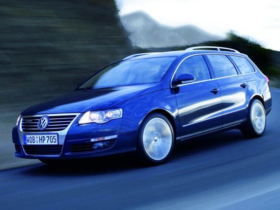 Авто-выставки: Париж-2008: Volkswagen Passat BlueTDI сделает мир чище