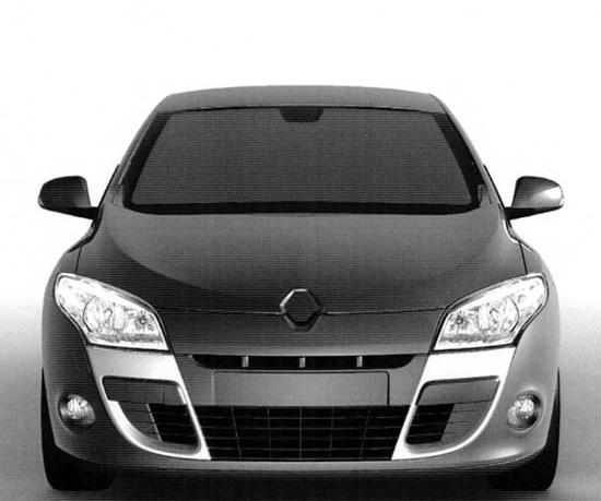 Matiz-club: Трехдверная Renault Megane Coupe 2009: первые изображения