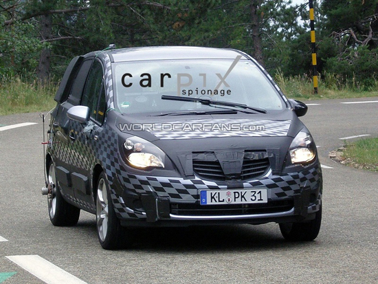 """Авто-новости: Opel Meriva меняет """"наряды"""""""