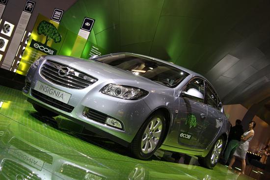 Авто-выставки: Париж-2008: Opel Insignia ecoFLEX 2009 – экономичность превыше всего