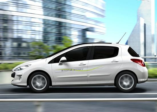 Авто-выставки: Париж-2008: экономичный Peugeot 308 Stop and Start