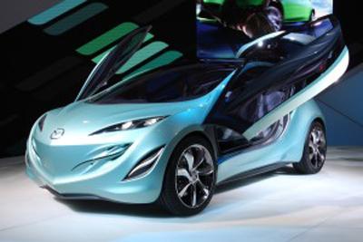 """Авто-выставки: Париж-2008: Kiyora """"капнула"""" на стенд Mazda"""