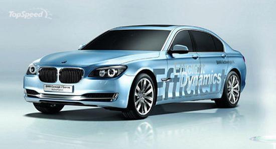 """Авто-выставки: Париж-2008: мировая премьера новой """"семерки"""" от BMW"""