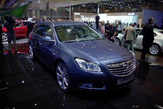 Авто-выставки: Париж-2008: Opel Insignia растет, как на дрожжах