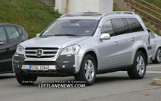 Авто-новости: Mercedes GL-класса молодеет на глазах