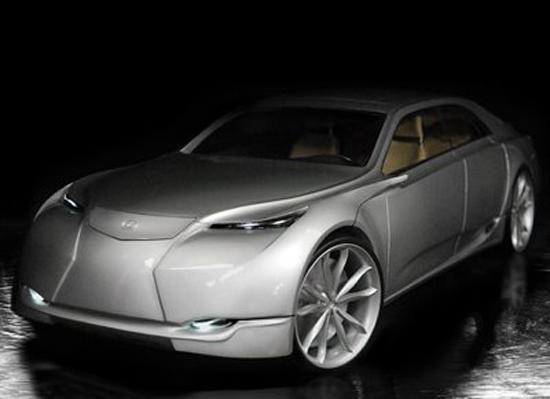 Авто-новости: Концепт Lexus LF SS – новое поколение модели GS
