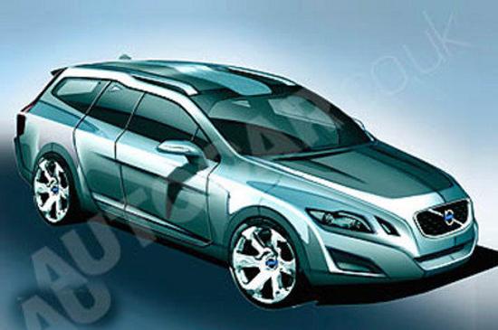 Авто-новости: Наброски будущего Volvo V70