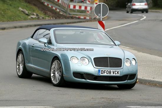 """Авто-тест: На тестах """"засветился"""" самый быстрый кабриолет Bentley"""