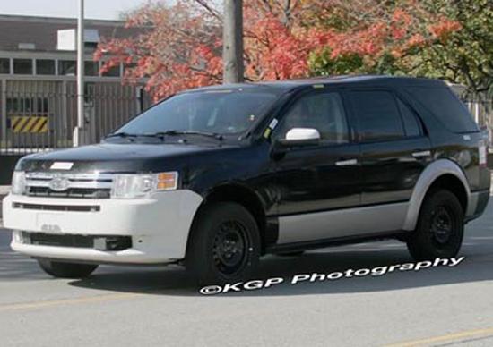 """Авто-новости: Ford Explorer 2009 съежится до размеров """"паркетника"""""""
