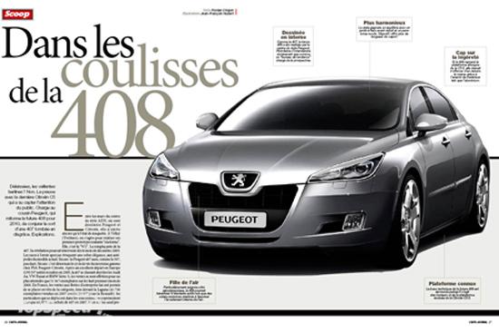 Авто-новинки: Peugeot 408 – наследница по прямой