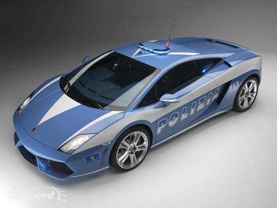 Авто-новости: В погоню за преступником на Lamborghini