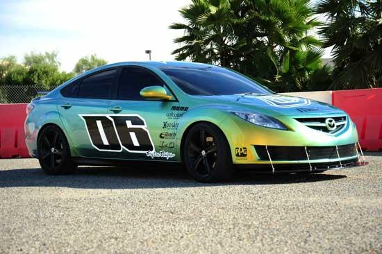 """Авто-выставки: SEMA-2008: Troy Lee Designs сделал из Mazda6 """"троянского коня"""""""