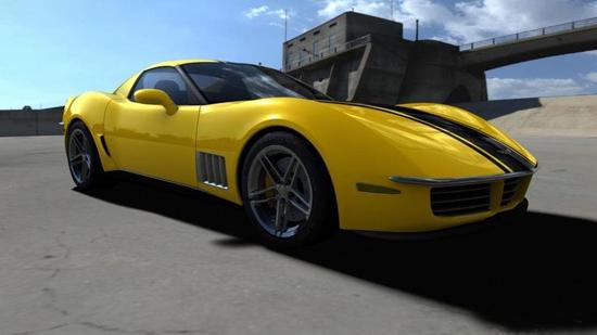 Авто-выставки: C3R Corvette Stingray атакует Детройт