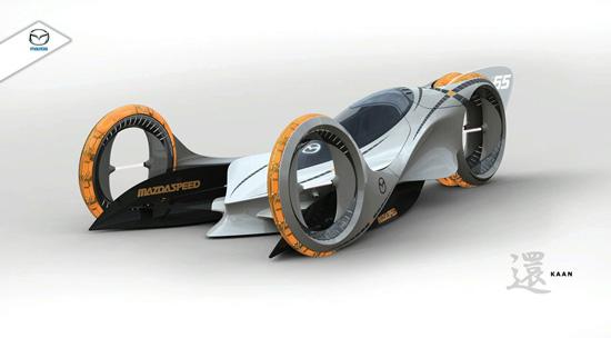 LA Auto Show 2008: в дизайнерском конкурсе победил проект Mazda Kaan