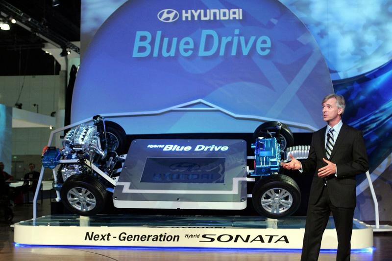 LA Auto Show 2008: Hyundai представила гибридную архитектуру Blue Drive