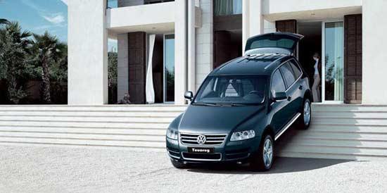 LA Auto Show 2008: Volkswagen Touareg TDI начинает освоение Америки